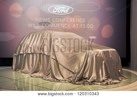 Ford Veiled