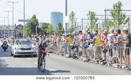 The Cyclist Jarlinson Pantano Gomez - Tour De France 2015