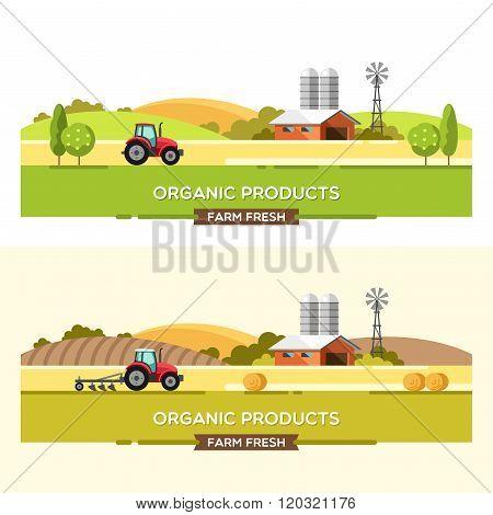 Organic Products Agriculture and Farming Agribusiness Rural Landscape