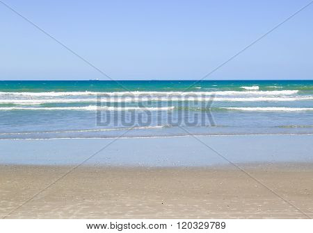 Atlantic Ocean At Cocoa Beach