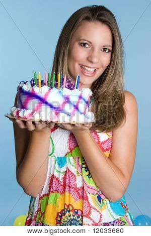 Birthday Cake Girl