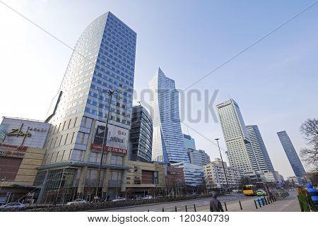 Modern Architecture In Warsaw
