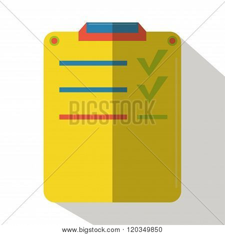 Experiment results icon vector flat isolated lab cartoon