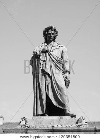 Schiller Statue, Stuttgart