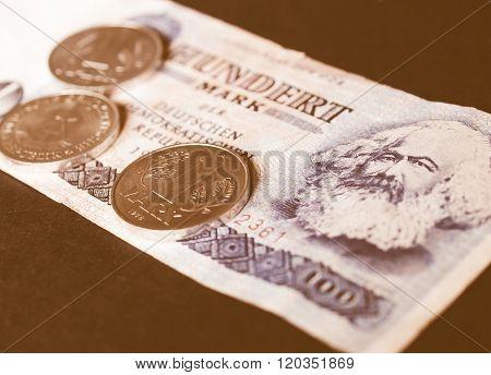 Ddr Banknote Vintage