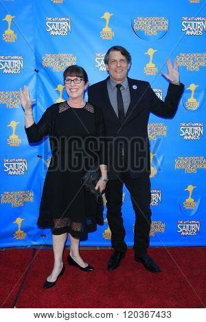 BURBANK - JUN 25: Adam Nimoy at the 41st Annual Saturn Awards at The Castaway on June 25, 2015 in Burbank, California,