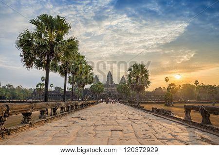 Angkor Wat Temple , Siem Reap , Cambodia