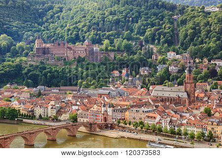 Heidelberg City Skyline , Germany