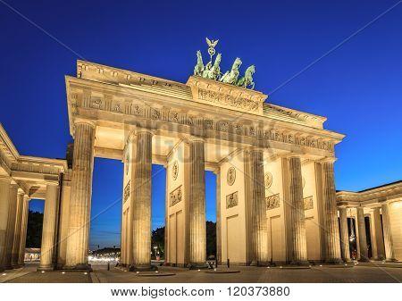 Brandenburg Gate , Berlin , Germany