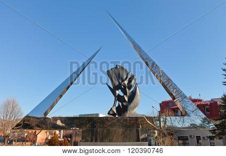 Monument To Petar Njegos In Cetinje, Montenegro