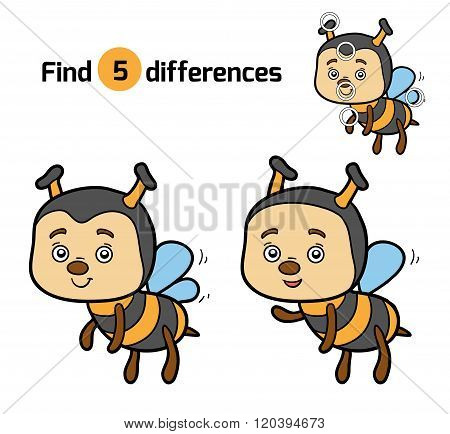 Find Differences For Children (bee)