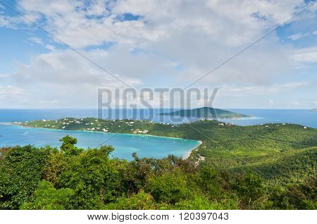 Magens Bay In St. Thomas