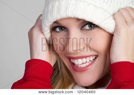 Smiling Winter Girl