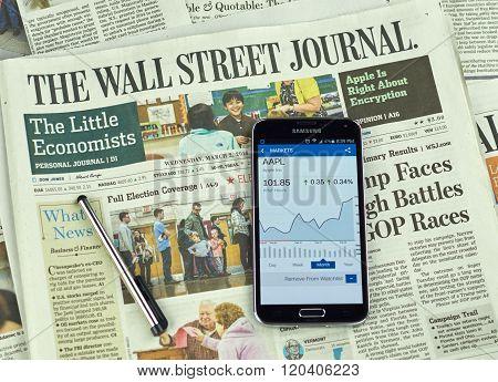 The Wall Street Journal Newspaper