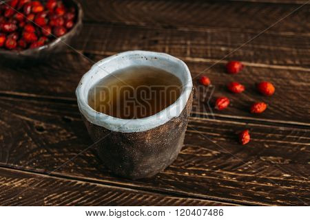 Tea From Rose Hips