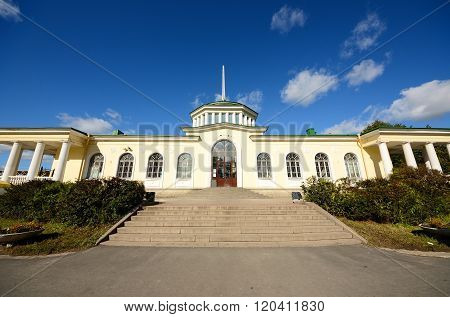 Old Mansion of the Former Russian Empire.