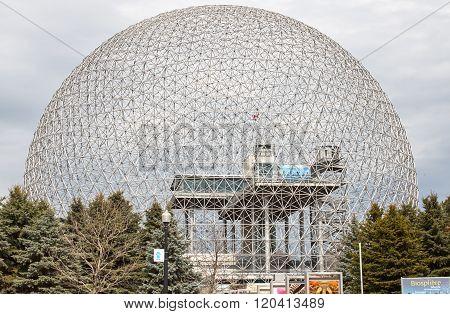 Biosphere Environmental Museum In Montreal.