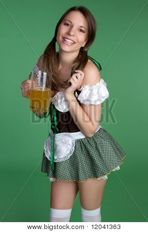 Saint Patricks Day Girl