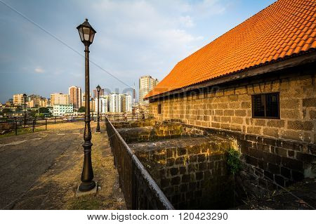 Building At Fort Santiago, In Intramuros, Manila, The Philippines.