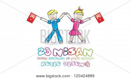 April 23 National Sovereignty and Children's Day