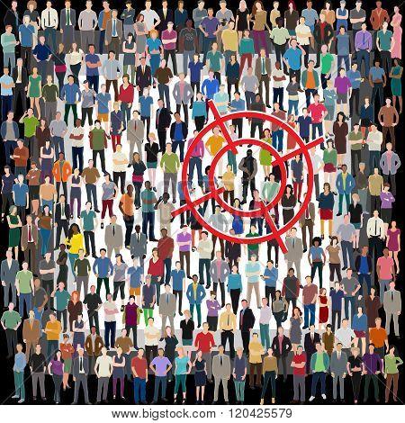 terrorism threat illustration