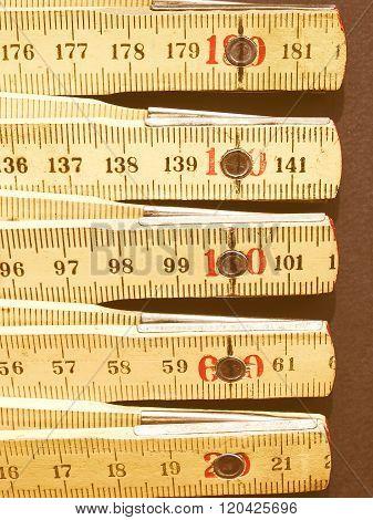 Ruler Picture Vintage