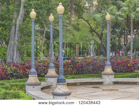 Square At Malecon 2000 In Guayaquil Ecuador