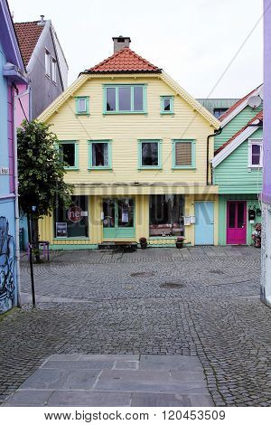 Walk through the city of Stavanger, Norway
