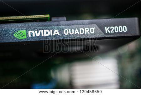 Nvidia Quadro Professional Video Card