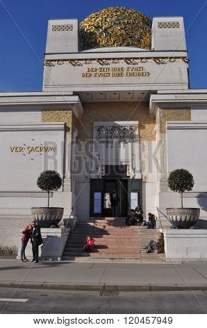 Secession Building In Wien