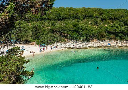Emblisi Beach, Kefalonia Island, Greece