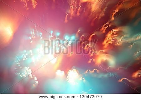 photo effects, background, light abstraction, blur, unique patterns