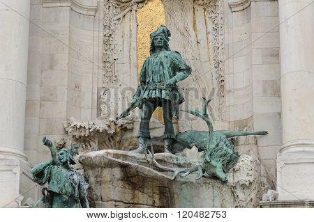 Bronze Sculpture Of Matthias Corvinus