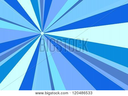 Rays Radius Background Blue