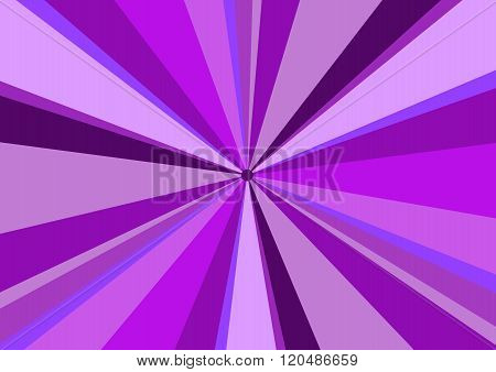 Rays Radius Background Center Violet
