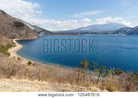 Fujisan with Lake Motosu