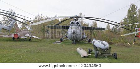 Mi-6 Aya- Airborne Command Post (1975).