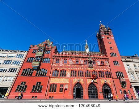 Town Hall Of Basel