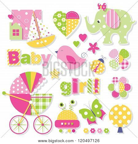 baby girl shower collection