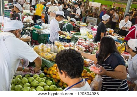 foods in a market