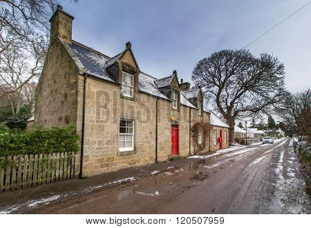 Cawdor Village, Scotland