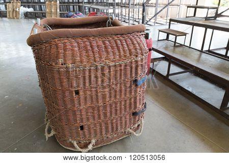 Basket Of Balloon