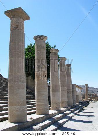 Greek Collums