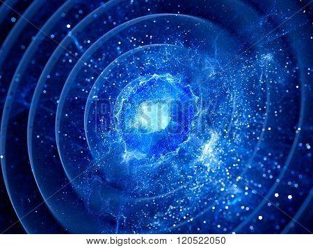 Gravitaional Wave Burst In Pulsar