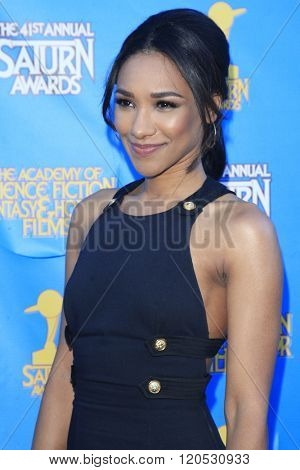 BURBANK - JUN 25: Candice Patton at the 41st Annual Saturn Awards at The Castaway on June 25, 2015 in Burbank, California,