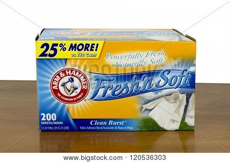 Fabric Softener Sheets
