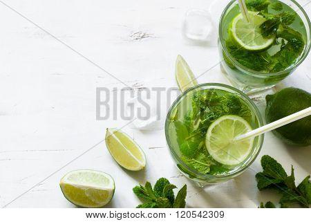 Summer Drink Mojito