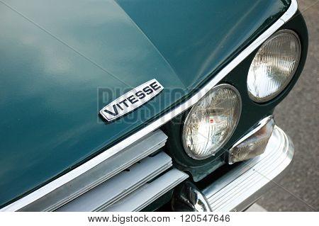 Triumph Vitesse Detail