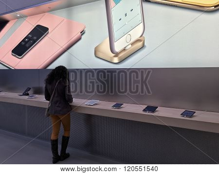 Apple Store, Shopping