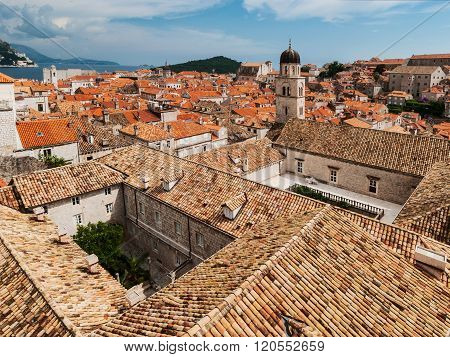 Dubrovnik City View With Tower And Private Yard